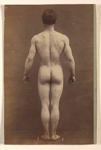 Hombre desnudo albert londe